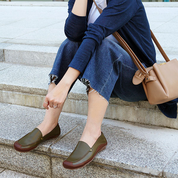 モカシン ソフトSoft Moccasin Casual ShoesNo.A0540 【22.5〜25.5cm】【TCSF】【●】